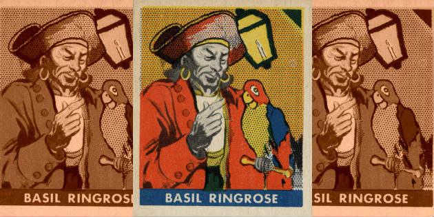 Ilustración del pirata Ringrose