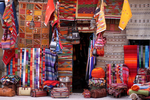 l'histoire de l'artisanat marocain