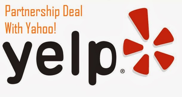 Yahoo And Yelp In A Partnership Deal