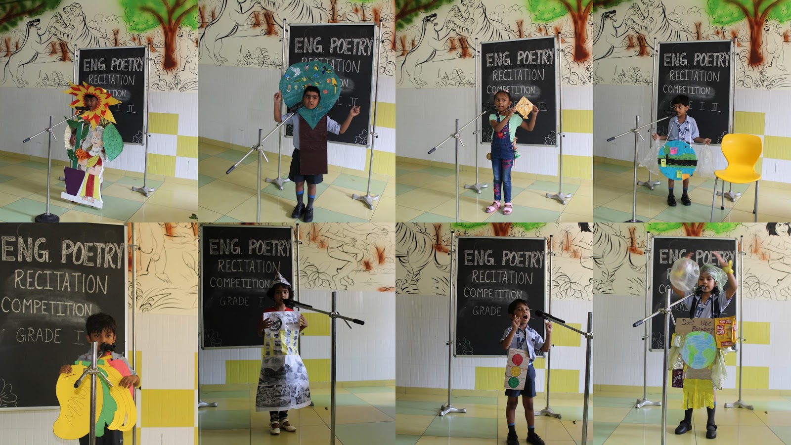 English Poetry Recitation Competition Rps Dharuhera Junior Wing
