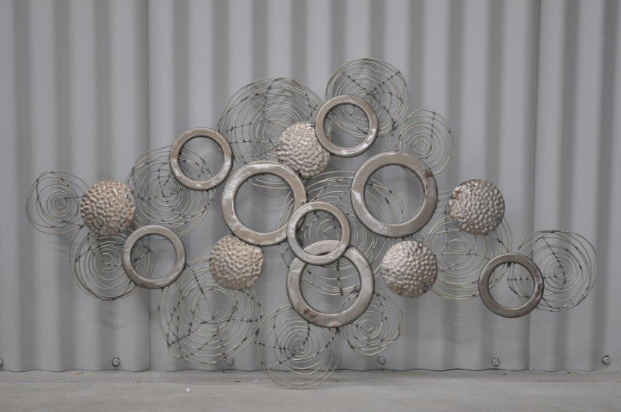 Interior Design Trends 2015: Creative Metal Wall Art Ideas