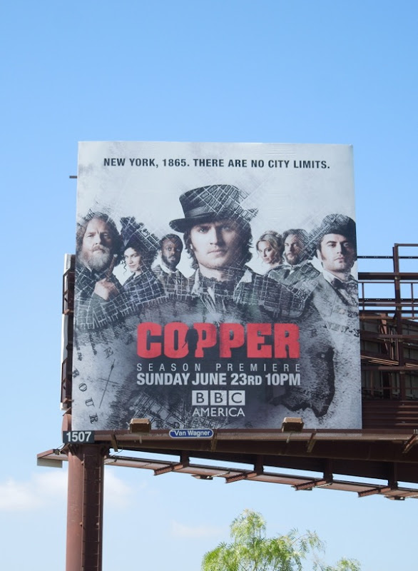 Copper series 2 billboard