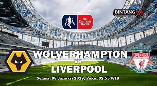 Prediksi Wolverhampton vs Liverpool 8 Januari 2019