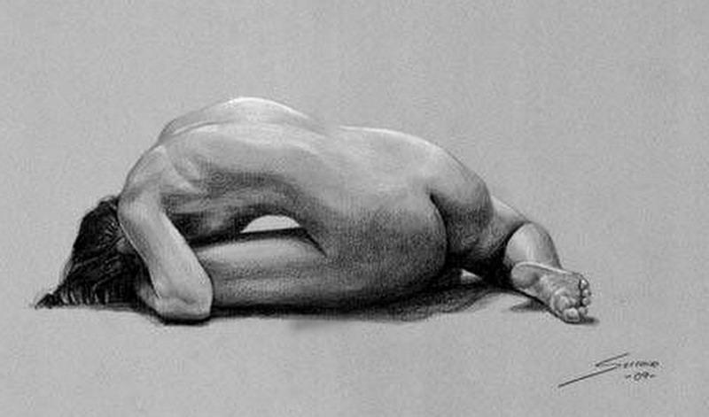 Sensualidad femenina trazada Dibujos-cuerpo-completo-mujeres-lapiz%2B%25282%2529