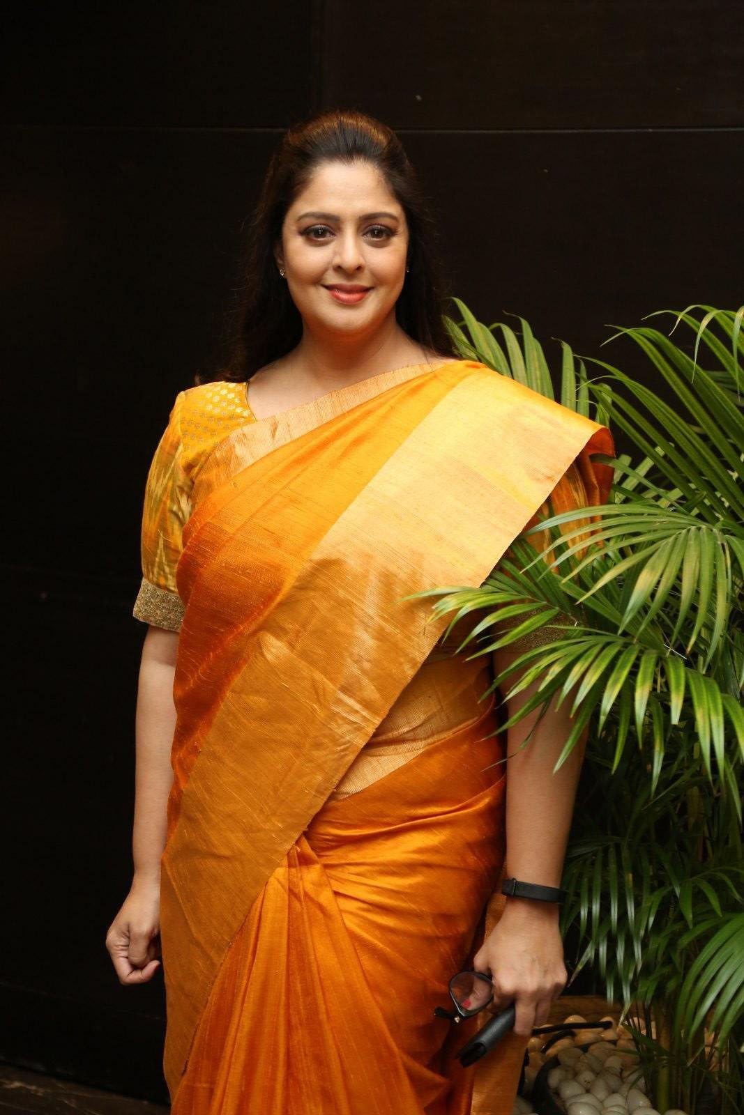 Actress Nagma Images At TSR National Film Awards 2019 Press