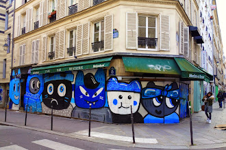 Sunday Street Art : Chanoir - rue Volta - Paris 3