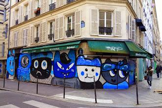 Sunday Street Art : Chanoir - rue Volta - Paris 3