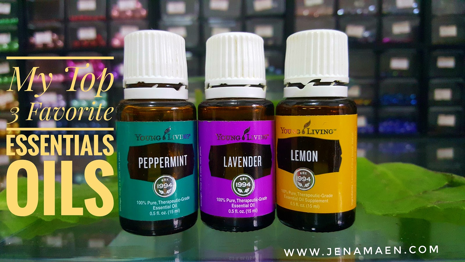 My Top 3 Favorite Essential Oils