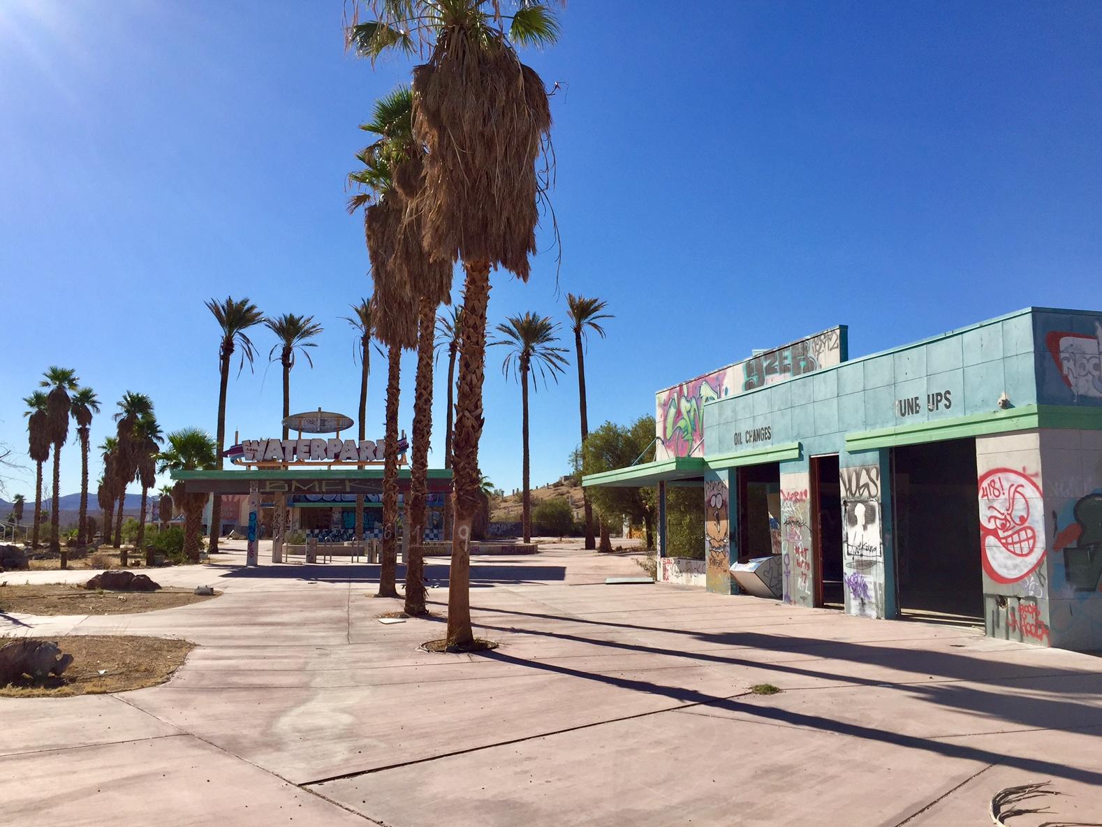 Abandoned Park near Las Vegas