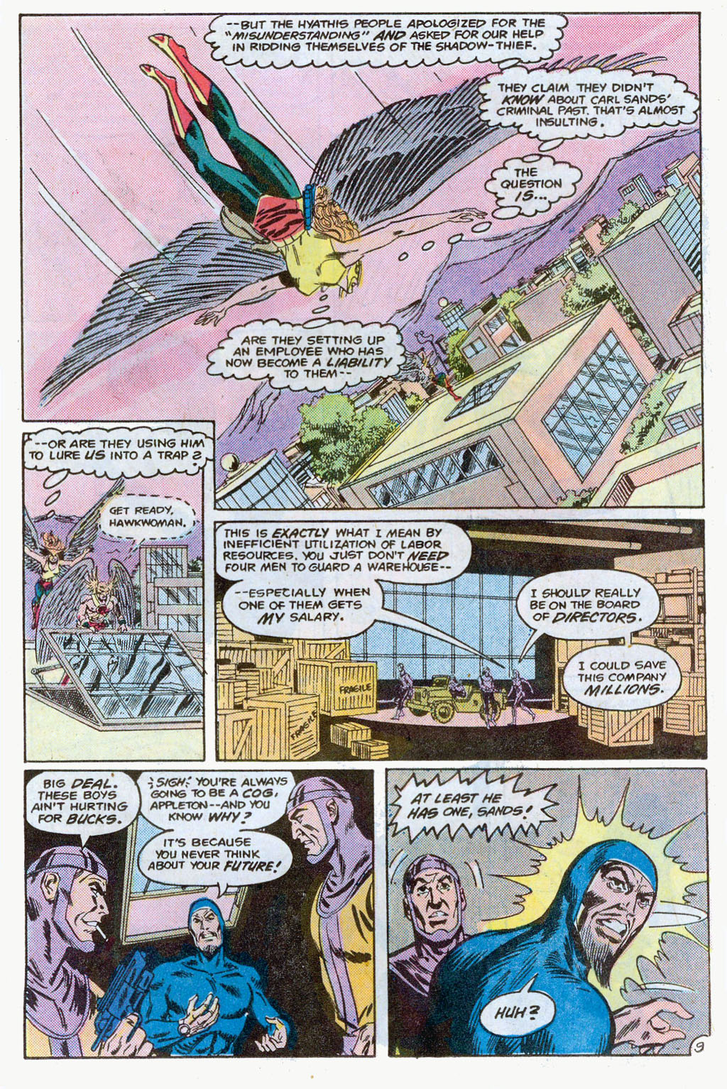 Hawkman (1986) Issue #3 #3 - English 12