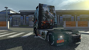 Crysis 3 Volvo skin and trailer