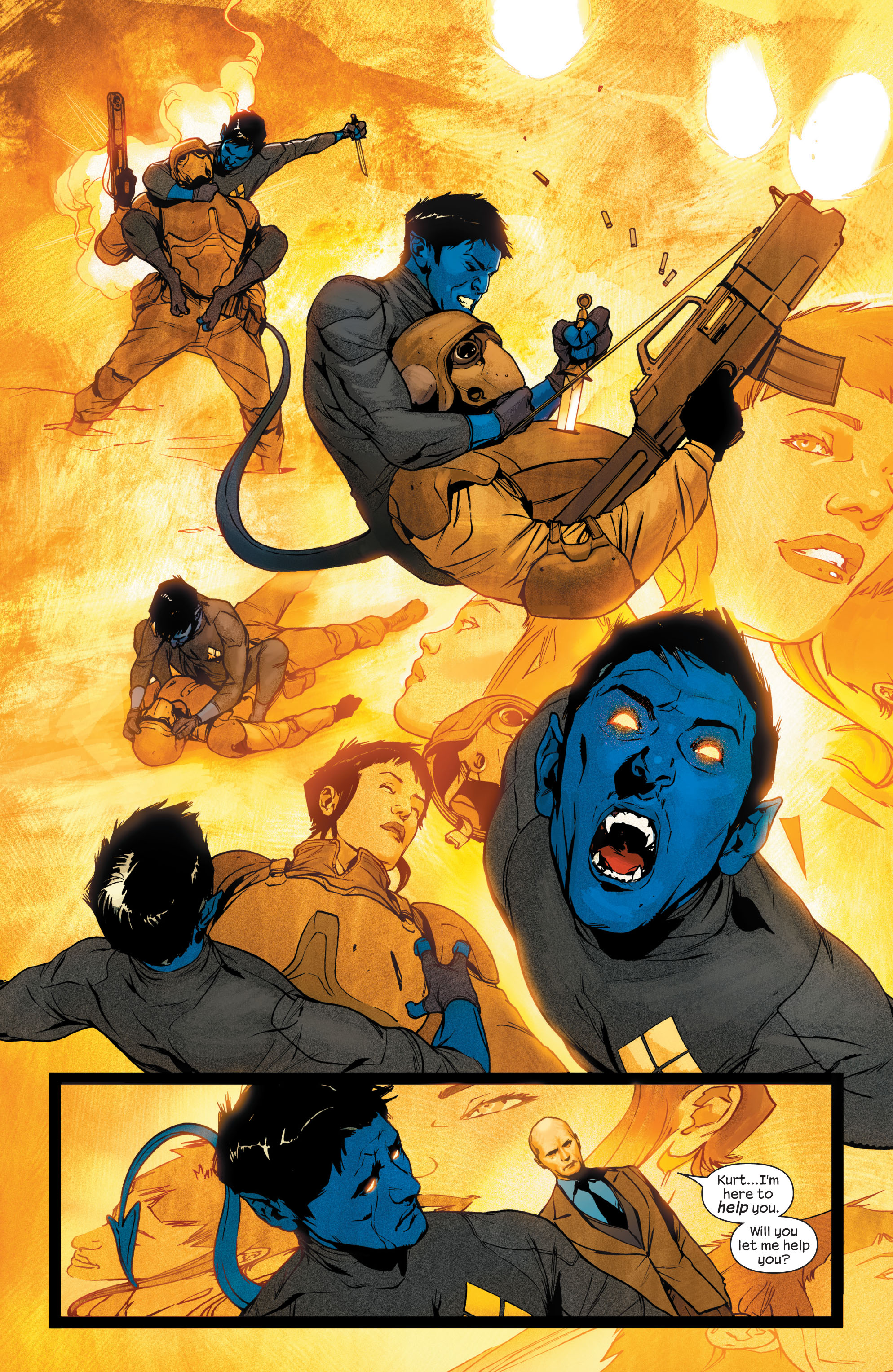 Read online Ultimate X-Men comic -  Issue #75 - 13