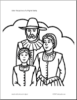 "pilgrims and indians coloring pages printables | FREE ""Pilgrims & Indians"" Printable Coloring Sheets"