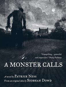 Portada original de Un monstruo viene a verme, de Patrick Ness