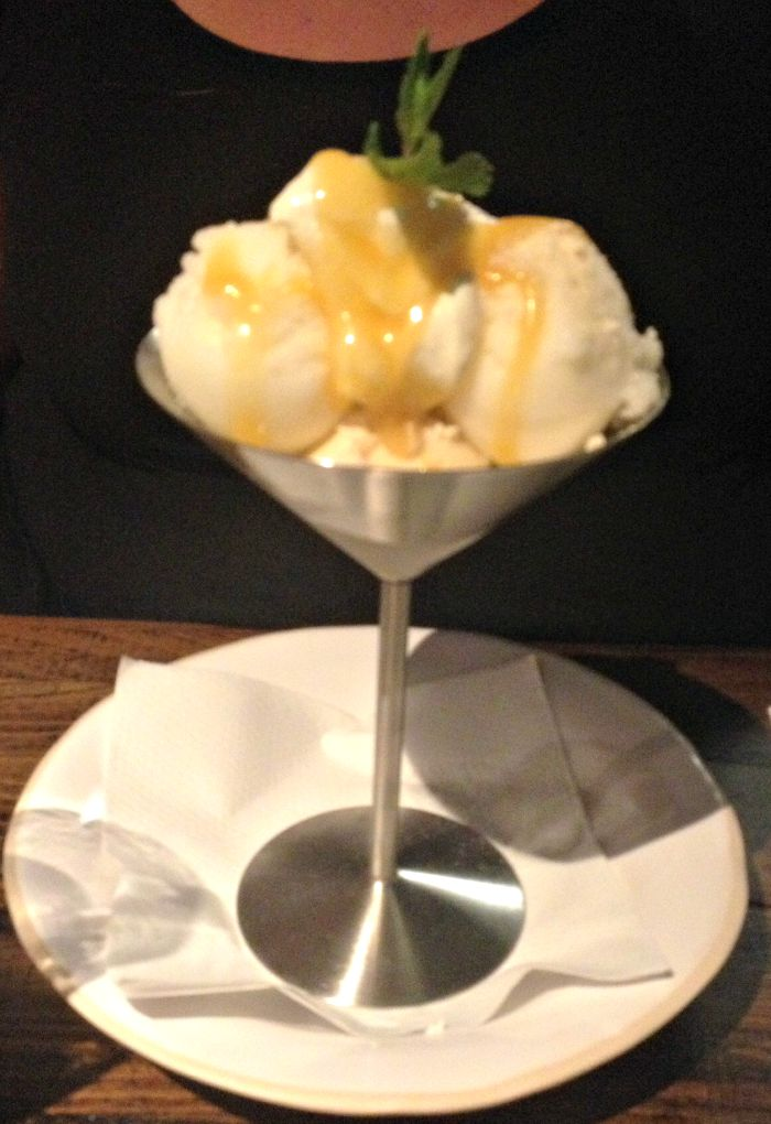 Zizzi Lemon Meringue Sundae