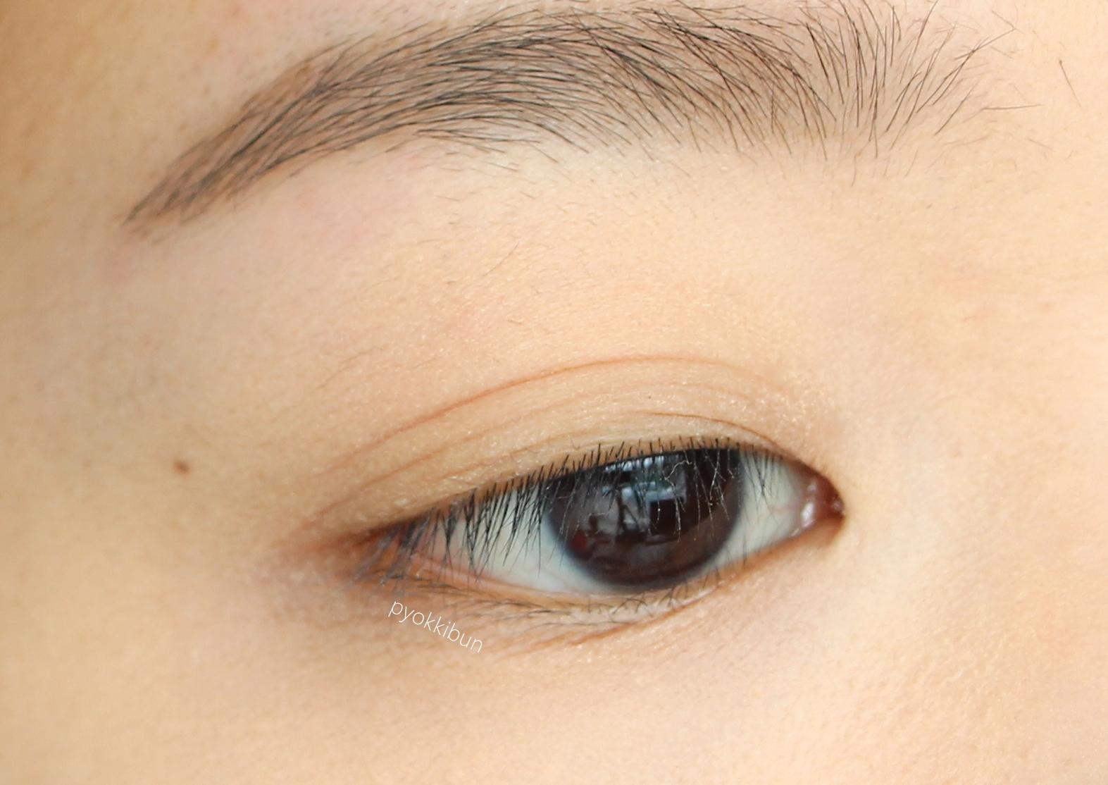 Simple yellow eye makeup - ♥ Pyokkibun