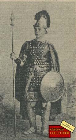 Charles Knie en costume Tatar