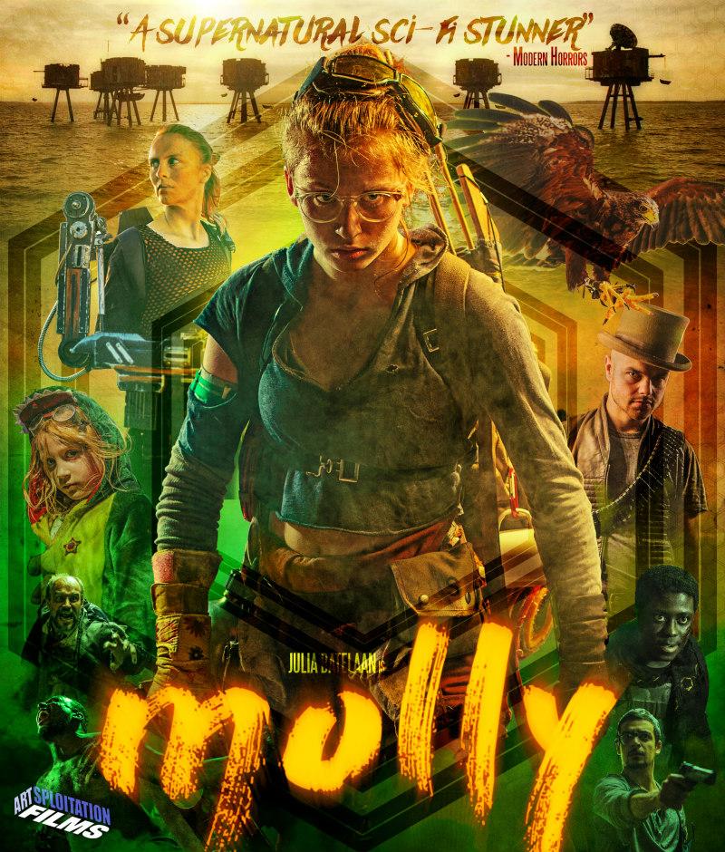 molly 2018 movie dvd