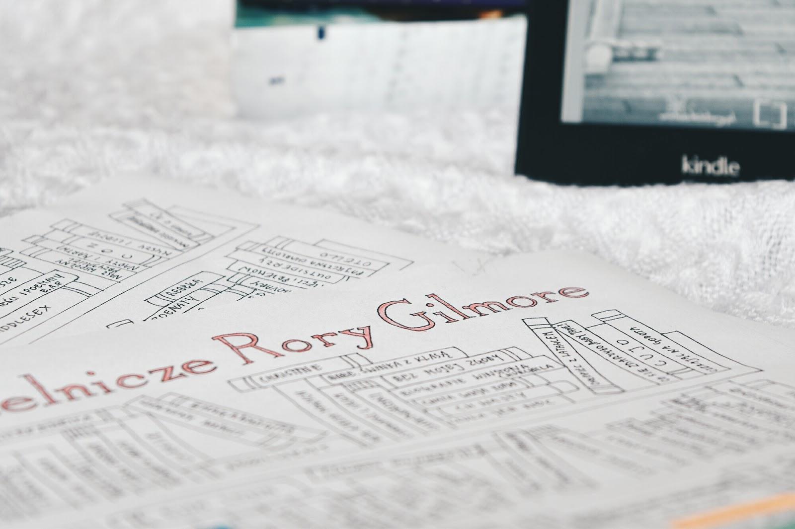 Wyzwanie czytelnicze Rory Gilmore, Gilmore Girls, Kochane Kłopoty, książki, co czytać, darmowe książki, darmowe ebooki, książki pdf, czytnik, Kindle