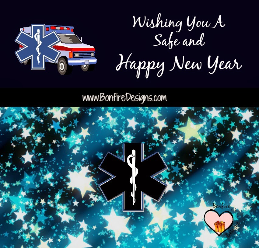 Happy EMT EMS Paramedic New Year