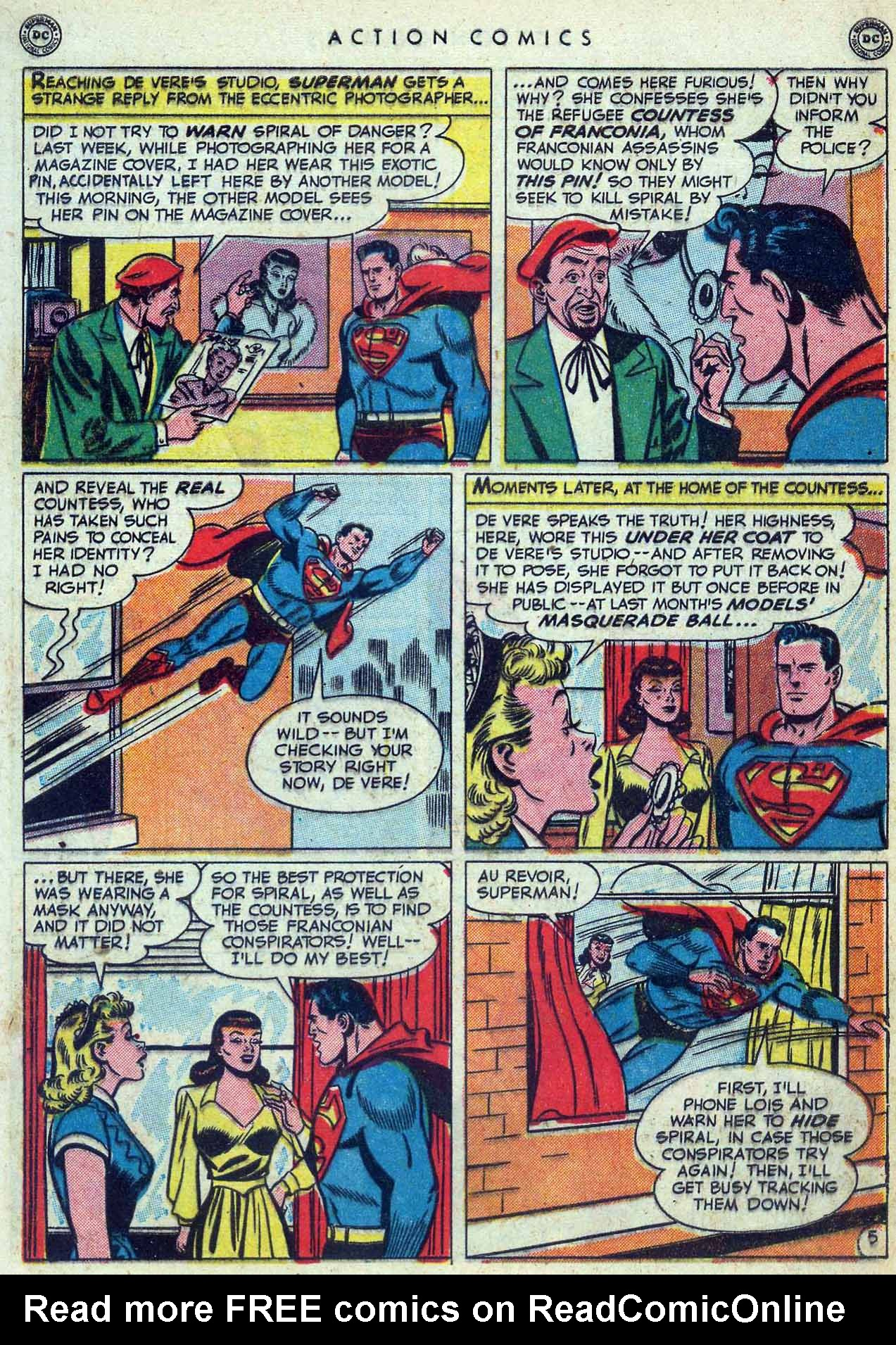 Read online Action Comics (1938) comic -  Issue #155 - 7