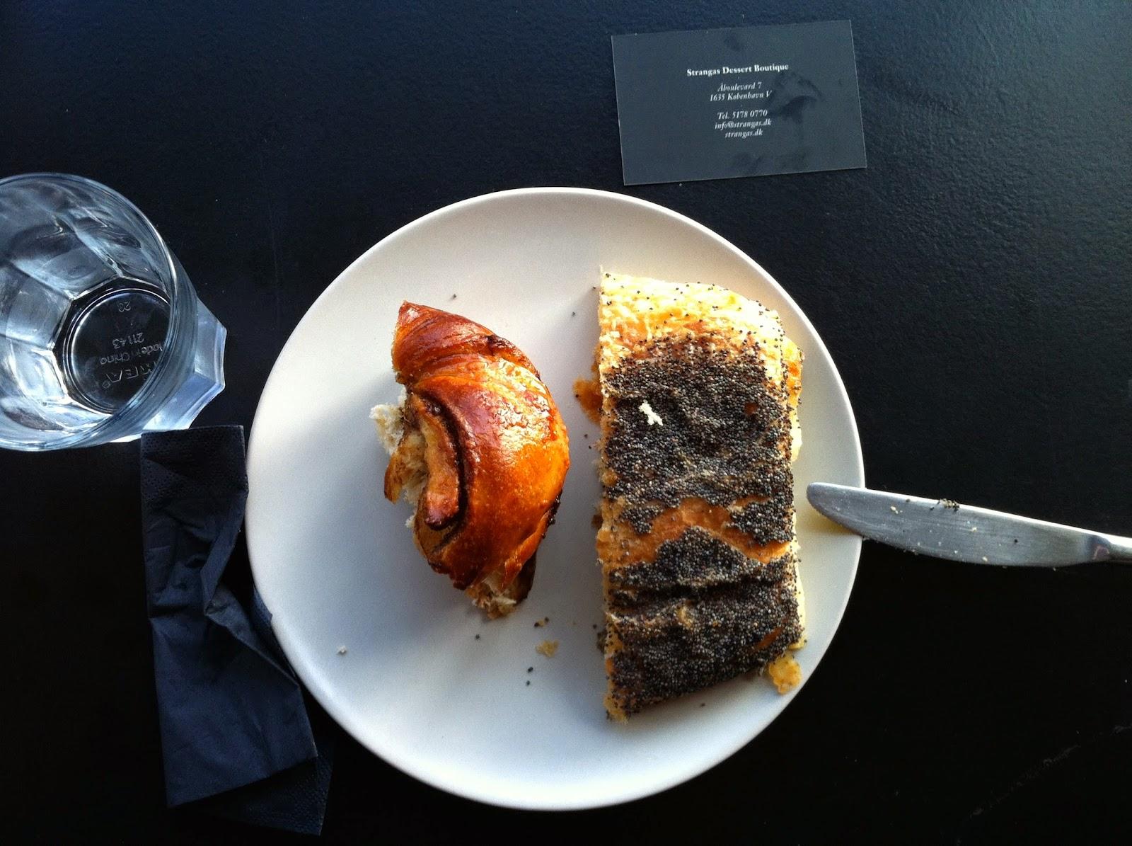 Strangas Dessert Boutique in Copenhagen was delicious