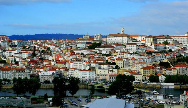 Centro Histórico de Coimbra visto do Convento de Santa Clara-a-Nova