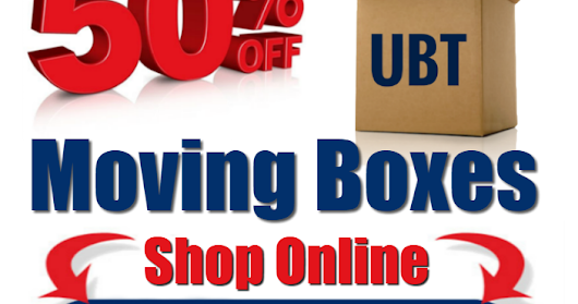 Save Over 50% on Moving Boxes & Moving Supplies.