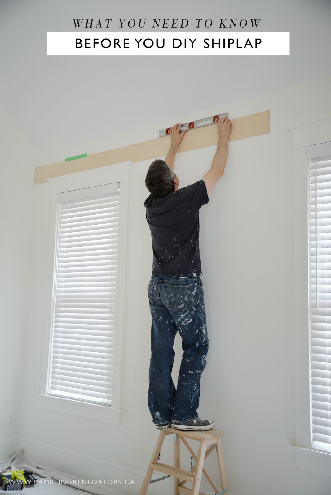 what you need to know before you diy shiplap | Ramblingrenovators.ca