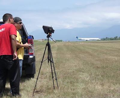Persiapan Foto udara Bandar Udara / Airport dengan Drone