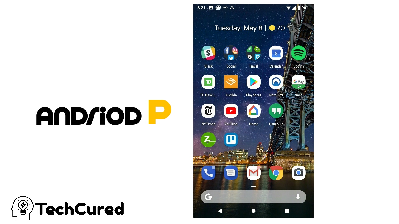 Android Pie 9.0 - Technology that helps but not distract |look on phone| TechCured.com