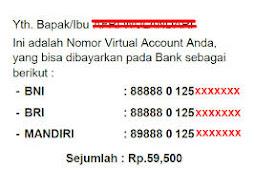 Belum Mendapatkan Nomor Virtual account (VA) BPJS Ini yang harus anda lakukan ?