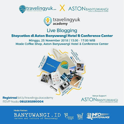 Live Blogging Staycation Di Aston Banyuwangi Hotel & Conference Center