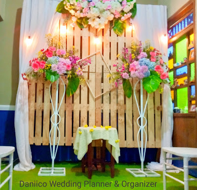 Dekorasi Akad Nikah Daniico Wedding Planner & Organizer Semarang
