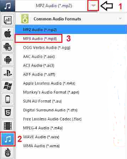 Mengubah Video file MP4 ke MP3 (Audio) di Offline di PC
