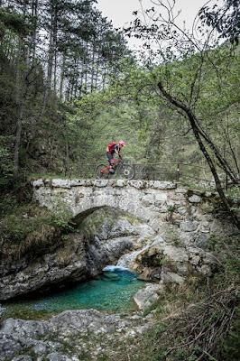 Mountainbike Foto Hotspot Friaul