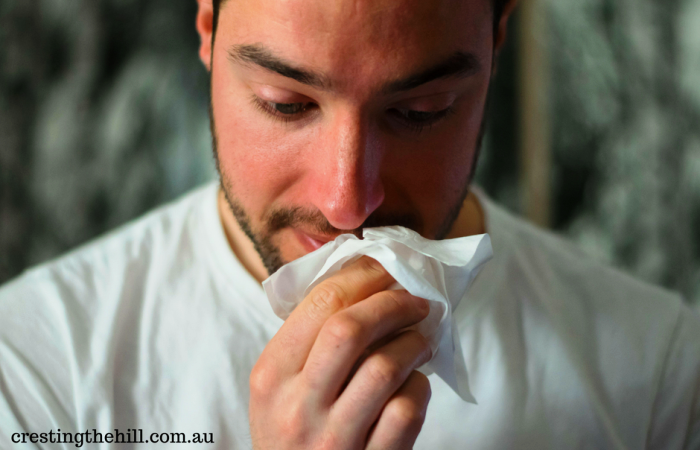 The dreaded man flu can strike at the most unexpected moment