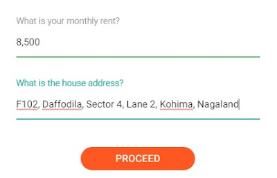 Online Rent Receipts Generator address