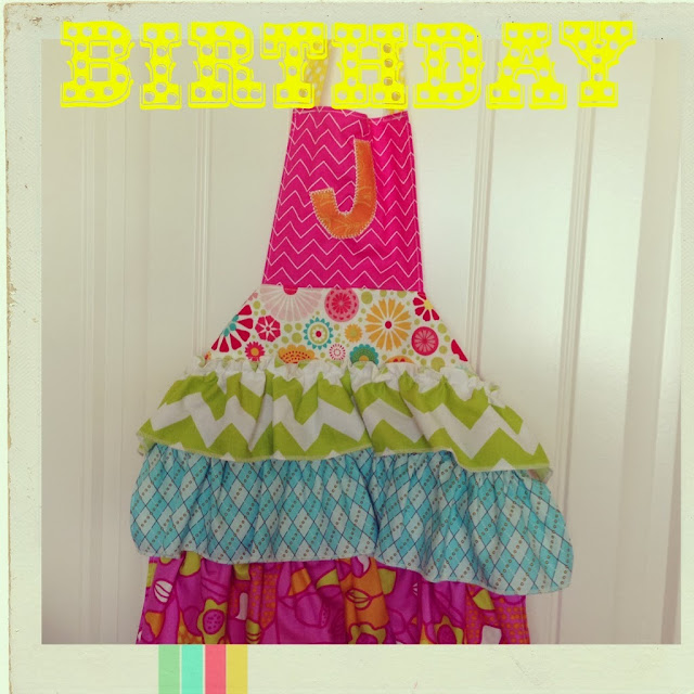 Sook Ee Designs: Birthday Aprons