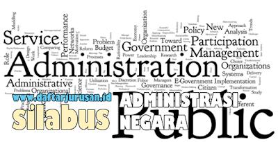 Mata Kuliah Yang Dipelajari Pada Ilmu Administrasi Negara