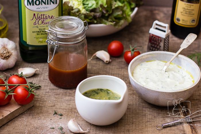 3 pomysły na domowe sosy do sałatek i rady jak zrobić dobry dressing