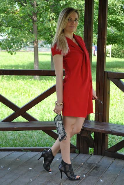 abito a scialle outfit abito rosso come abbinare il rosso abbinamenti rosso how to wear red red outfit red dress  mariafelicia magno fashion blogger colorblock by felym outfit luglio 2016 outfit estivi summer outfits july outfits fashion blogger italiane fashion bloggers italy influencer italiane italian influencer web influencer