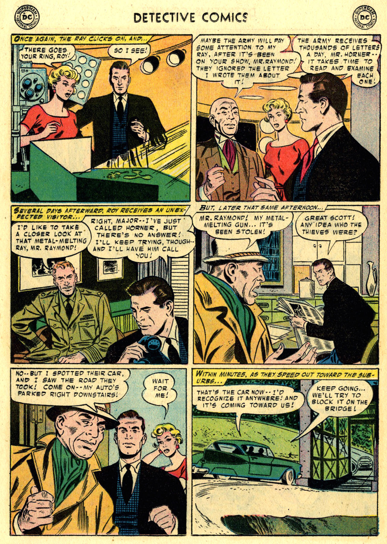 Read online Detective Comics (1937) comic -  Issue #245 - 20