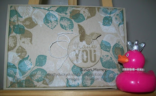 Stampin' Up! Made by Independent Demonstrator Susan Merrey Craftyduckydoodah! Kinda Eclectic
