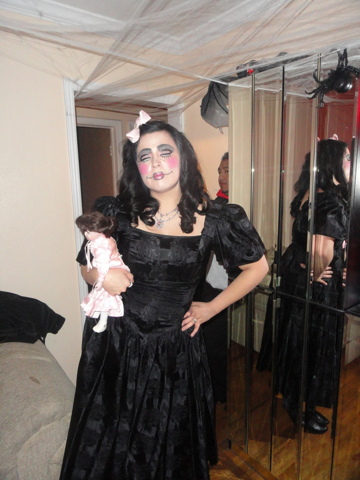 Goth Halloween Maternity Shirt Punk, Pregnancy Costume Gothic Spooky