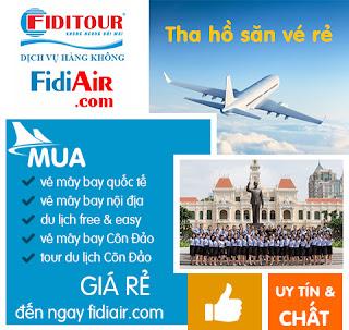 mạng vé máy bay online giá rẻ Fidiair