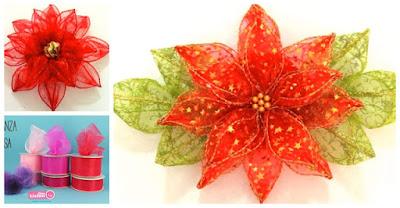 flor-navideña-organza