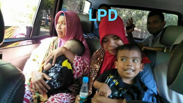 LPD Jumput Dua Bocah Lumpuh Layu untuk menjalani Perawatan di Rumah Saki