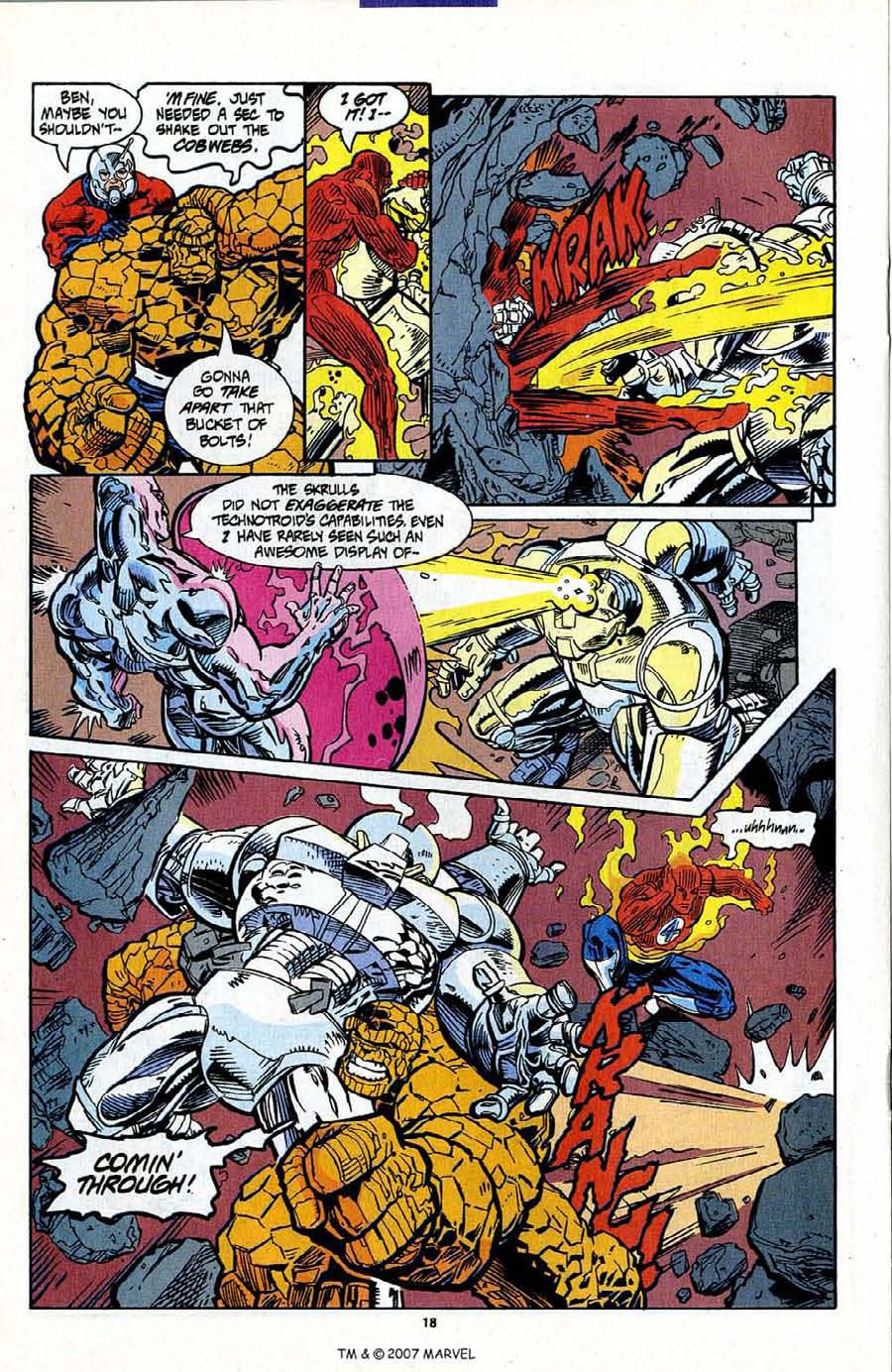 Read online Silver Surfer (1987) comic -  Issue #95 - 20
