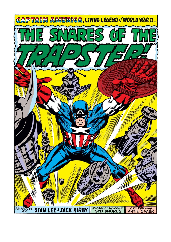 Read online Captain America (1968) comic -  Issue #108 - 2